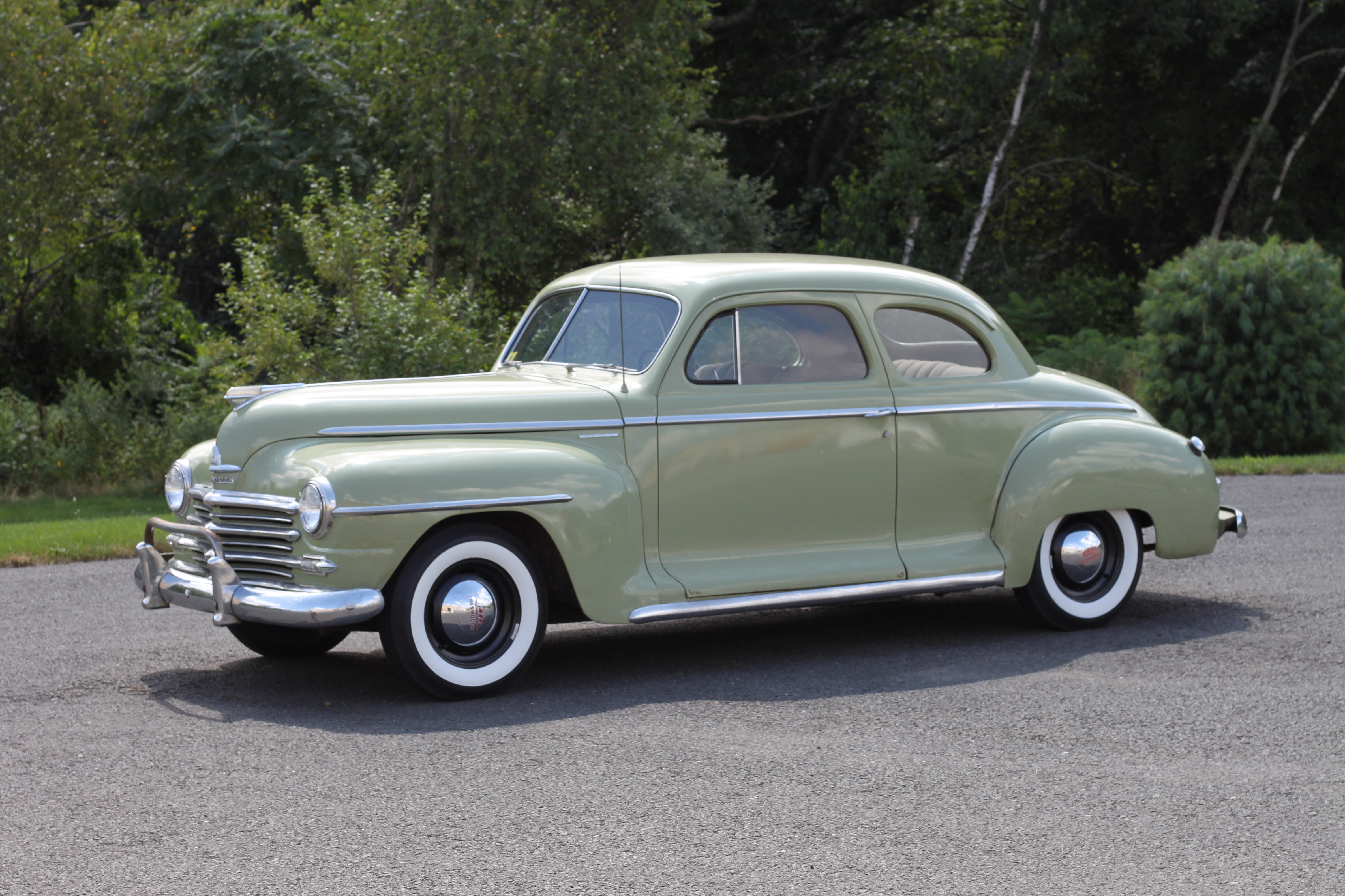 1948 Plymouth Special Deluxe Club Coupe Shp Customs